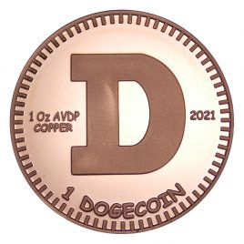 Physical Dogecoin – 2021 Pure Copper Edition
