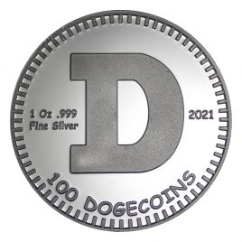 Physical Dogecoin – 2021 Pure Silver Edition